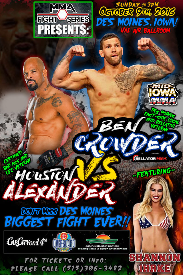 The Fight Series MMA Events by Brian Green